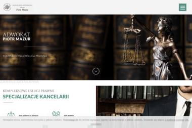 KANCELARIA ADWOKACKA - Adwokat Piotr Mazur - Obsługa prawna firm Lublin