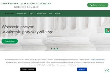 Kancelaria Adwokacka Adwokat Wojciech Romalski - Windykacja Żyrardów