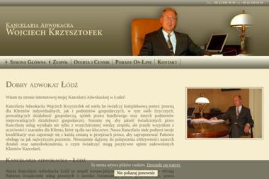 Kancelaria Adwokacka - Wojciech Krzysztofek - Windykacja Łódź