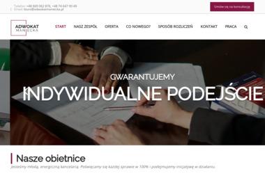 Kancelaria Adwokacka ADW Justyna Maniecka - Windykacja Bielawa