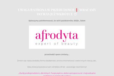 Salon Urody AFRODYTA - Masaż Czekoladą  Warszawa