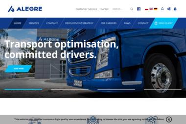 Alegre Logistic Spółka z ograniczoną odpowiedzialnością sp.k. - Transport Drogowy Malbork