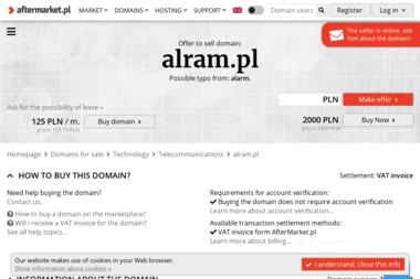 ALRAM Sp. z o.o. - Systemy alarmowe Poznań