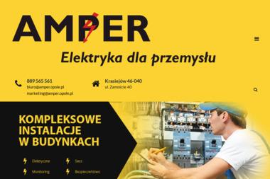 AMPER INSTALATORSTWO ELEKTRYCZNE - Serwis Alarmów Krasiejów