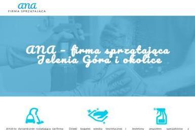 Firma Sprzątająca ANA - Sprzątanie Wojcieszyce