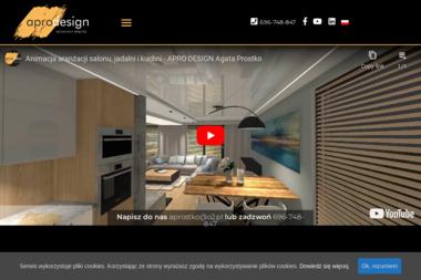 APRO Designe Agata Prostko - Aranżacje Mieszkań Tuczno