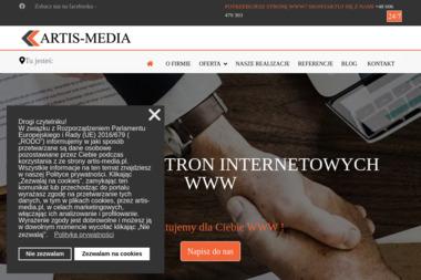 Firma medialno-wydawnicza ARTIS-MEDIA Łukasz Dziura - Strony internetowe Jasło