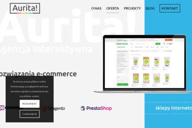 AURITA Agencja Kreatywna - Strona www Inowrocław