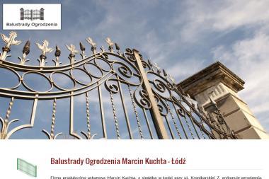 Balustrady Ogrodzenia Marcin Kuchta - Nowoczesne Ogrodzenia Metalowe Łódź