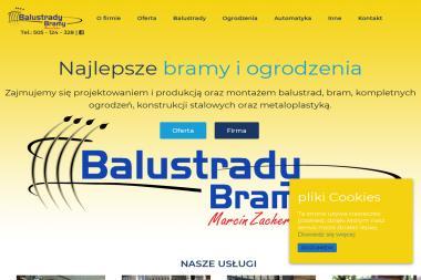 Firma Produkcyjno Usługowa BALUSTRADY-BRAMY - Balustrady Kute Jadowniki
