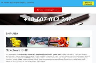 BHP ABA - Kurs Kpp Legnica