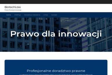 BiotechLaw - Obsługa prawna firm Białystok