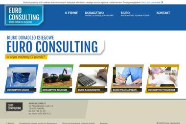 Euro Consulting - biuro doradczo księgowe - Firma Księgowa Sokółka