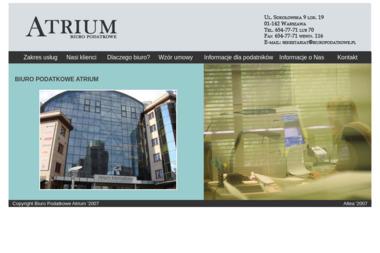 Biuro Podatkowe Atrium - Biuro Rachunkowe Przasnysz