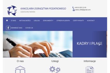 Kancelaria Doradztwa Podatkowego Grzegorz Niekra - Usługi finansowe Kraśnik