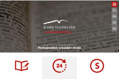 Biuro Tłumaczeń Biruta Gruszecka - Tłumaczenia dokumentów Toruń