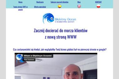Błękitny Ocean - Strony internetowe Dębica