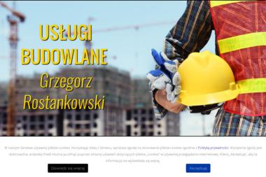 Usługi Budowlane Instalacyjne i Wykończenia Wnętrz Rostankowski Grzegorz - Murowanie ścian Czersk