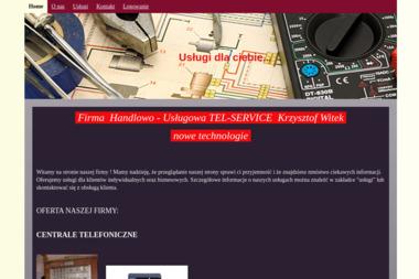 Firma Handlowo - Usługowa TEL-SERVICE Krzysztof Witek - Alarmy Poronin