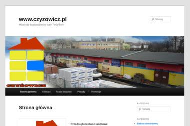 """Przediębiorstwo Handlowe """"Czyżowicz"""" s.c. - Okna Namysłów"""