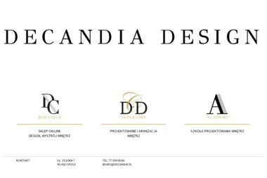 DECANDIA DESIGN - Architekt wnętrz OPOLE