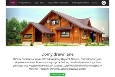 Z.P.U.H. Export Import Milczuk Wiesław - Domy z bali Zamość