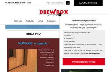 Drewbox. Art. wyposażenia wnętrz - Drzwi Miechów