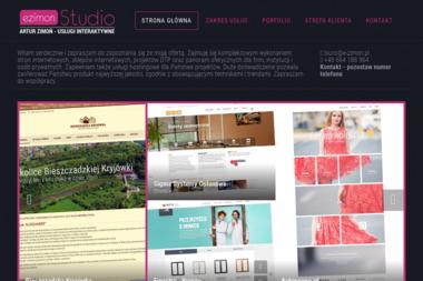ezimon Studio - Strony internetowe Sanok