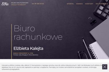 Biuro rachunkowe - Elka - Sprawozdania Finansowe Olecko