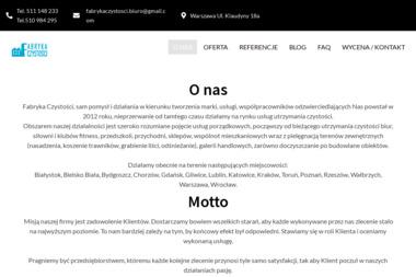 Fabryka Czystości - Sprzątanie Lublin