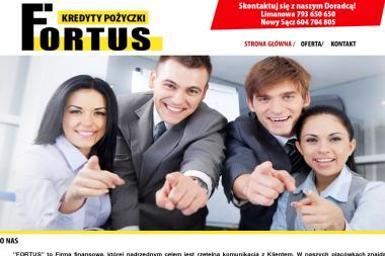 FORTUS KREDYTY - POŻYCZKI - Doradztwo Kredytowe Limanowa