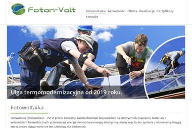 FOTON-VOLT Mirosław Bochenek - Energia odnawialna Stalowa Wola