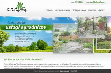 GD OGRODY Kompleksowe Usługi Ogrodnicze - Producent Ogrodów Zimowych Rożnów