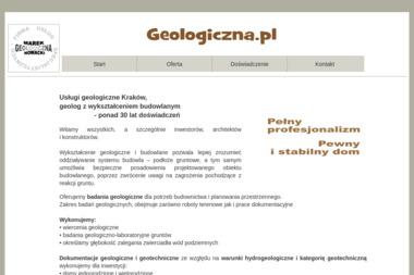 Firma Usług Specjalistycznych Geologiczna Marek Nowacki - Zagęszczenie Gruntu Kraków
