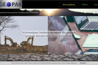 GEOPAK Paweł Kochański - Usługi Geologiczne Wrocław