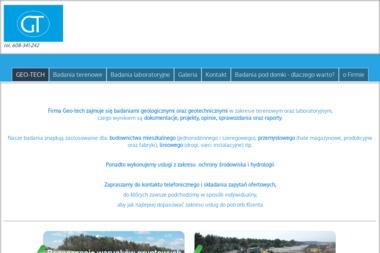 Geo-tech - Badanie Geotechniczne Piła