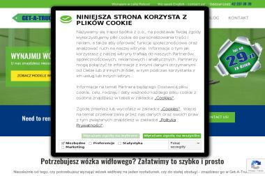 Get a Truck - Krótkoterminowy wynajem wózków widłowych Łódź