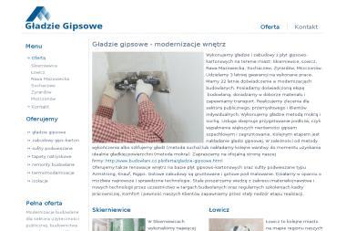 Zakład Ogólnoremontowy - Firma Remontowo Budowlana Olszanka