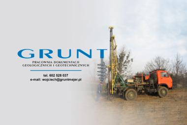 GRUNT Pracownia Dokumentacji Geologicznych i Geotechnicznych - Przekroje Geologiczne Poznań
