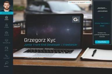 Grzegorz Kyc Junior Front-End Developer - Strony internetowe Straszydle