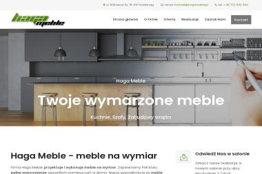 Haga Meble - Meble na wymiar - Meble Do Kuchni Kołobrzeg