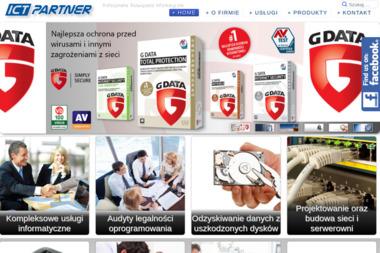 ICT-PARTNER - Identyfikacja wizualna Bydgoszcz