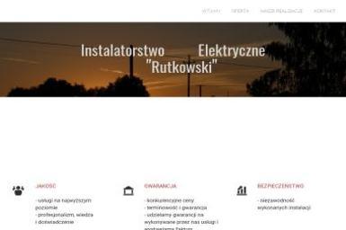 """Instalatorstwo Elektryczne """"""""Rutkowski"""""""" - Pogotowie Elektryczne Bartoszyce"""