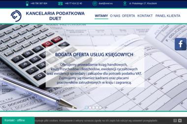 Kancelaria Podatkowa DUET sp. z o.o. - Usługi finansowe Kluczbork