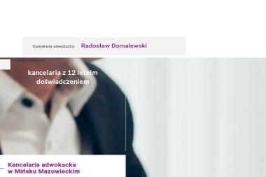 Kancelaria Adwokacka Warszawa  Radosław Domalewski - Windykacja Mińsk Mazowiecki
