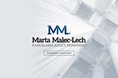 Kancelaria Radcy Prawnego Marta Malec-Lech - Windykator Brzesko