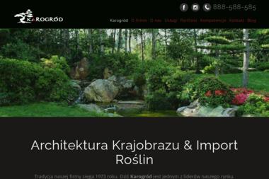 KAROOGRÓD - Projekty Ogrodu Wałbrzych