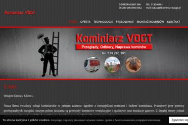Kominiarz VOGT - Czyszczenie Komina ze Smoły Maków Mazowiecki