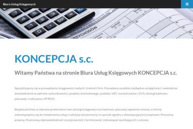 Biuro Usług Księgowych KONCEPCJA s.c. - Biuro Rachunkowe Głogów