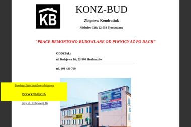 P.H.U. KONZ-BUD - Elektryk Hrubieszów